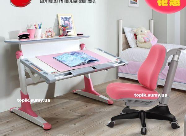 Комплект мебели Comf-Pro : стол TH-333+кресло KD518 Pink